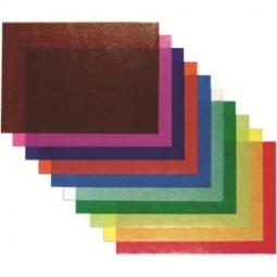 TRANSPARENT PAPER JANSEN 70X100 42G 482572.32 AZURE BLUE