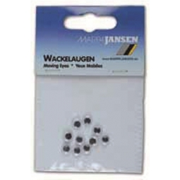 MOVING EYES JANSEN ROUND 3MM 100PCS/PACK 636100