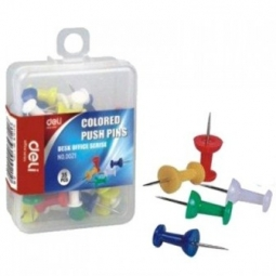 PUSHPIN DELI COLOR HEAD 35/PACK 0021