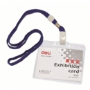 Name Badge Deli W/Lanyard 50/Pack 5756