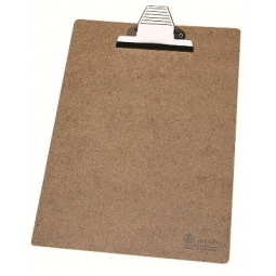 CLIPBOARD DELI MASONITE A4 JUMBO METAL CLIP 9227