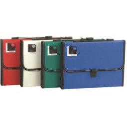 EXPANDING FILE DELI PP A4 12 POCKETS TWIN COLOR 5559