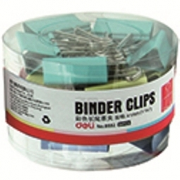 Binder Clip Deli 41Mm 24/Pack Assorted 8552