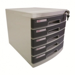 STORAGE DRAWERS DELI 5 DRAWERS 325X302X395MM W/LOCK E8855