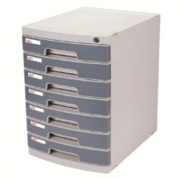 STORAGE DRAWERS DELI 7 DRAWERS 395X302X432MM W/LOCK E8877