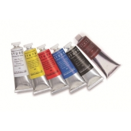 (D30)SENNELIER ETUDE FINE OIL COLOUR 34ML CADMIUM RED DEEP N130311.606
