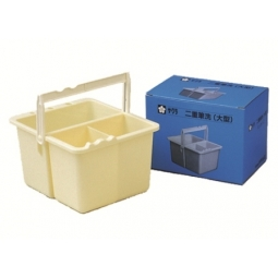 BRUSH WASHER SAKURA 2 CONTAINERS HISSEN-C