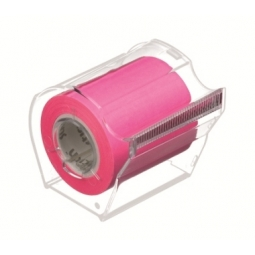 ROLL NOTES STICK N 50X10M 25MM CORE PINK 21438