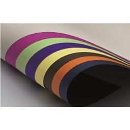 Cardboard Prisma 50X70Cm (16) 220Gr (Nero) Black