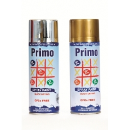 SPRAY PRIMO 400CC N: 39 SOLID COLOR GLOSSY BLACK