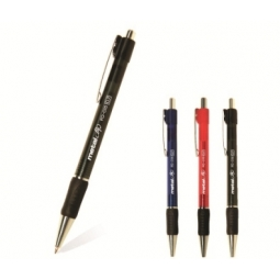 Pen Ballpoint Flexoffice Metal Clip 0.7Mm Blue Fo-015