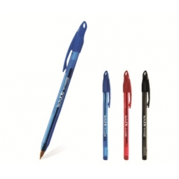Pen Ballpoint Flexoffice Techjob 0.7Mm Black Fo-016