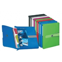 DOCUMENT CASE HERLITZ PP A4 GREEN OPAQUE 11206133