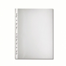 Folder Punched Herlitz Pp A4 100/Pack Polybag Embossed 10840320