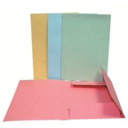 File Cardboard 3 Flaps Noble Assorted Color