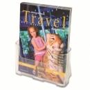 Combibox Deflecto Brochure Holder A4 1 Tier 23.5X27.3X9.5Cm Wall Mount 77001