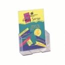 Combibox Deflecto Brochure Holder A5 1 Tier 16.5X19.7X9.5Cm Wall Mount 74901