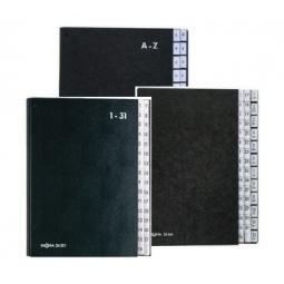SIGNATURE BOOK PAGNA 12 COMPARTMENTS 1-12 + JAN-DEC 24241-04