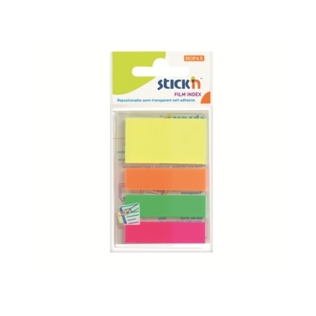 Index Film Notes Stick N 4 Neon Color 21051