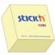 Stick Notes Stick N 76X 76Mm 400Sh/Cube Pastel Yellow 21072