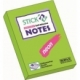Stick Notes Stick N 76X 50Mm 100Sh Neon Lime 21163