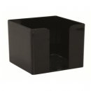 Note Cube Box 10X10 Black/Brown/Blue