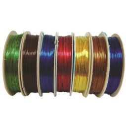 Brass Wire 0.6Mm 6 Meter Blue Bs9303Bl