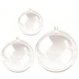 Plastic Ball 8Cm Transparent El504