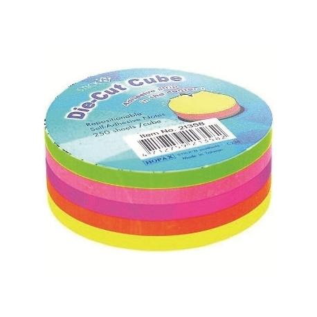 Stick Notes Stick N Die-Cut Cube Round 21358