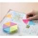 Stick Notes Stick N Puzzle Blocks 6 Neon Colors 21369