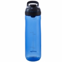WATER BOTTLE CONTIGO CORTLAND BPA FREE W/AUTOSEAL LID 720ML MONACO/GREY 1000-0462