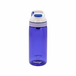 WATER BOTTLE CONTIGO COURTNEY BPA FREE W/AUTOSEAL LID 590ML CERULEAN BLUE 1000-0597