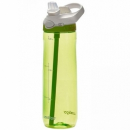 WATER BOTTLE CONTIGO ASHLAND BPA FREE W/AUTOSPOUT LID 720ML CITRON/WHITE 1000-0454
