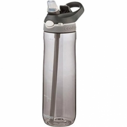 WATER BOTTLE CONTIGO ASHLAND BPA FREE W/AUTOSPOUT LID 720ML SMOKE/GREY 1000-0457