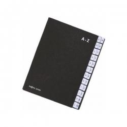 SIGNATURE BOOK PAGNA 24 COMP.BLACK A-Z 24246-04