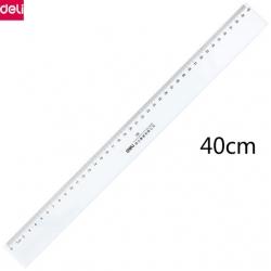 Ruler Deli Plastic 40Cm 8241