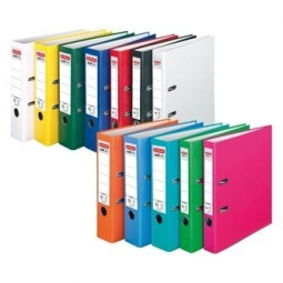 Box File Herlitz Pp Color A4 50Mm Green 5450507