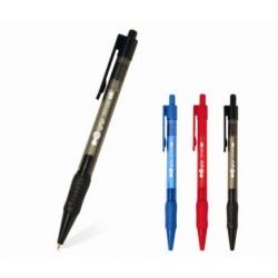 Pen Ballpoint Flexoffice Hi-Grip 0.7Mm Black Fo-012