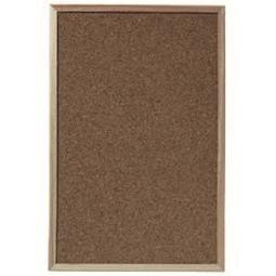 Cork Bulletin Board Herlitz Wood Frame 30X40Cm 1600006