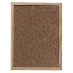 CORK BULLETIN BOARD HERLITZ WOOD FRAME 40X60CM 1600030