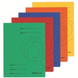 Folder With Flaps Herlitz Cardboard A4 320G Light Green 11076460