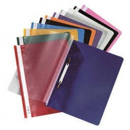 Report Cover Herlitz Plastic A4 Red 00975433