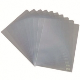 FOLDER HERLITZ A4 CRYSTAL CLEAR 100/PACK POLY BAG 10843746