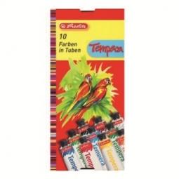 Gouache Herlitz Tempera 10 Colors 08643058