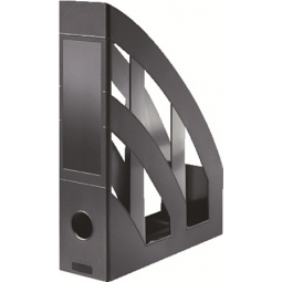 MAGAZINE RACK HERLITZ CLASSIC A4 BLACK 00065037