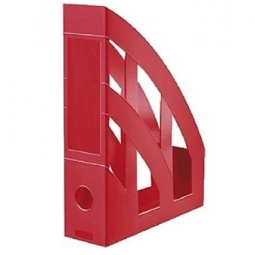 MAGAZINE RACK HERLITZ CLASSIC A4 RED 00065003