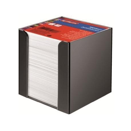 Memo Holder Herlitz Plastic 9X9Cm 700Sh Black 1600360