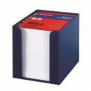 Memo Holder Herlitz Plastic 9X9Cm 700Sh Blue 01600378