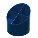 Pen Holder Herlitz 4 Compartments Blue 10866739