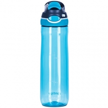 WATER BOTTLE CONTIGO CHUG BPA FREE W/AUTOSPOUT LID WITHOUT STRAW 720ML SCUBA 1000-0763